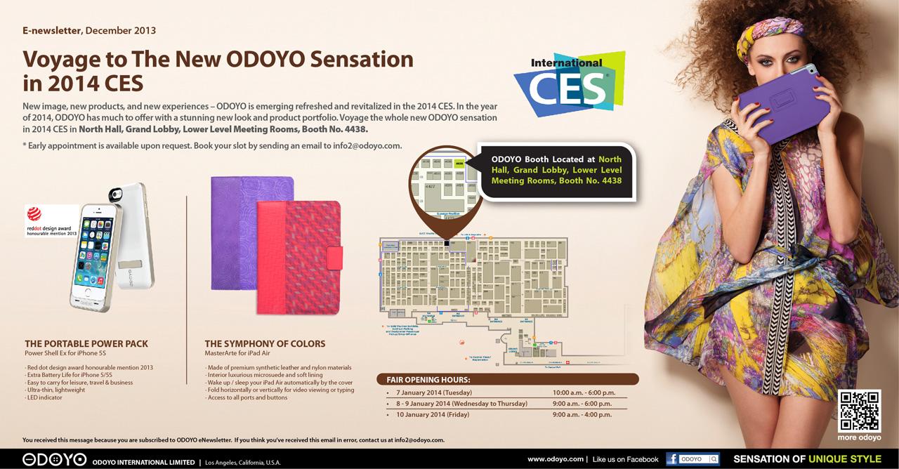 Newsletter for CES 2014 v5