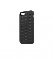 iPhone 5 5S SE case SharkSkin Black series Side