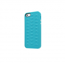 iPhone 5 5S SE case SharkSkin Blue series Side