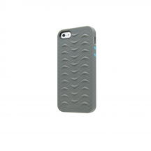 iPhone 5 5S SE case SharkSkin Grey series side