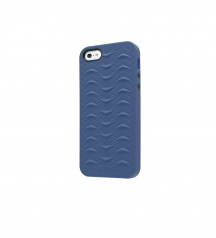 iPhone 5 5S SE case SharkSkin Navy Blue series Side
