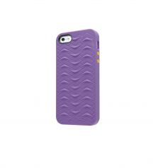 iPhone 5 5S SE case SharkSkin Purple series side