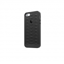 iPhone 5 5S SE case SharkSkin Smoke Grey series Side