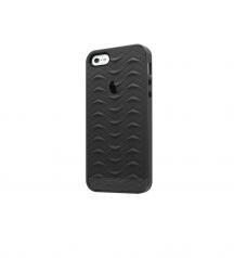 iPhone 5 5S SE case SharkSkin Smoke Grey series Side