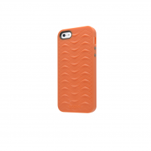 iPhone 5 5S SE case SharkSkin orange series Side