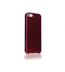 ODOYO, iphone5, iPhone5S, iPhone SE, case, burgundy, side back