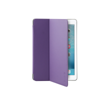 iPad Pro 9.7 inch hard folio case aircoat purple Front