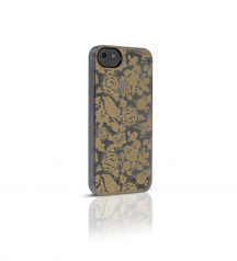 iPhone 5, iphone5S, iPhone SE,  iPhoneSE, case, New Born, Paper Cutting - Gold case for iPhoneSE