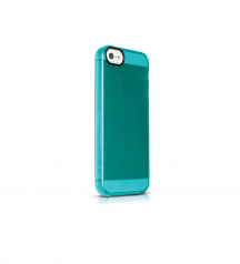 iPhone 5, iphone5S, iPhone SE, iPhoneSE, case, Soft Edge case for iPhone SE, Soft Edge case for iPhone 5S, Lagoon Blue case for iPhone SE, side