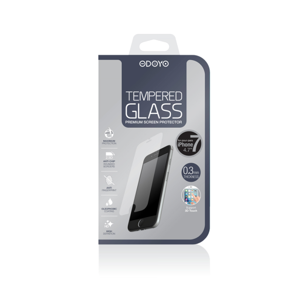 0.3mm Tempered Glass for iPhone 7 and iPhone 8