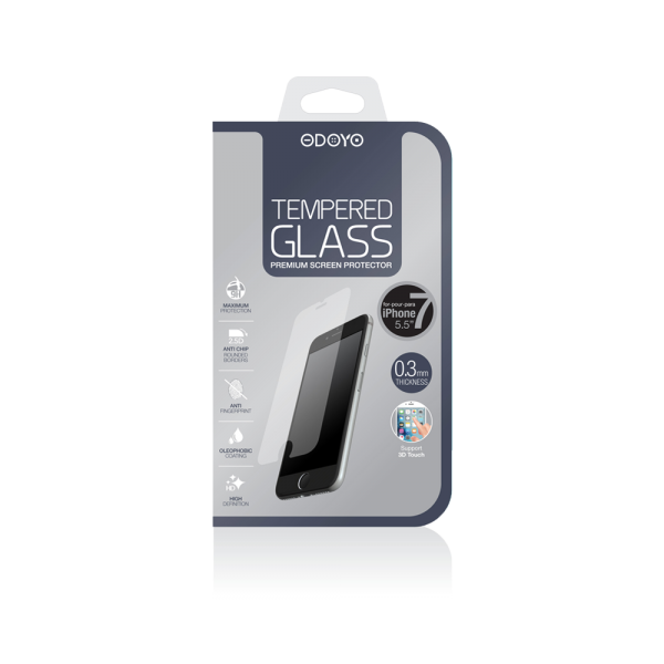 0.3mm Tempered Glass for iPhone 7 Plus and iPhone 8 Plus