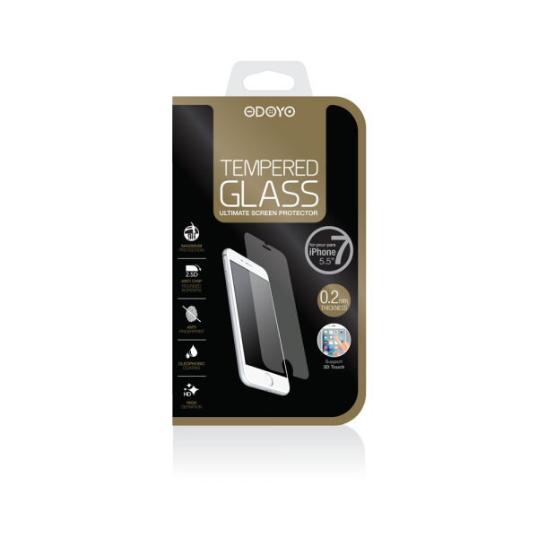 0.2mm Tempered Glass for iPhone 7 Plus and iPhone 8 Plus