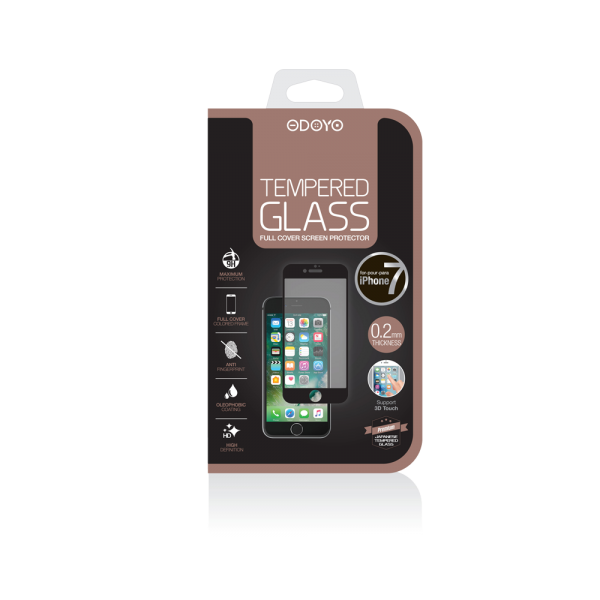 0.2mm Tempered Glass Full Cover Screen Protector for iPhone 7 & 8