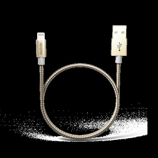 1.2-meter Metallic MFI Lightning to USB Cable