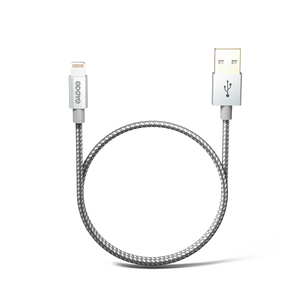 1.2-meter Metallic MFI Lightning to USB Cable