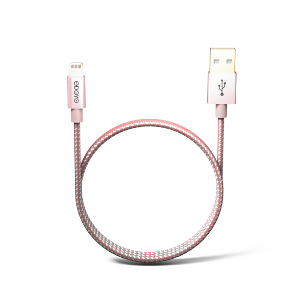 2-meter Metallic MFI Lightning to USB Cable