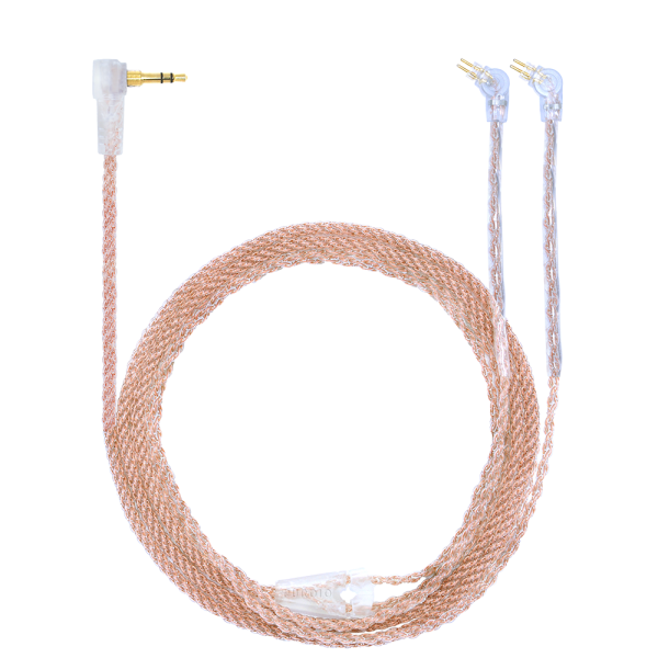 Purdio Vector High Fidelity Cable – 2 Pin to 3.5mm Stereo Plug