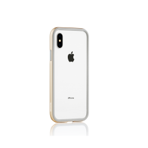 Blade Edge Collection Protective Snap-On Metallic Bumper For iPhone X