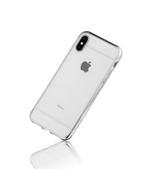 Clear Edge Collection Hybrid Protective Soften Edges and Hard Posterior Snap Case For The iPhone X