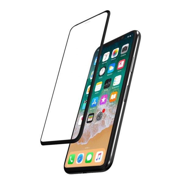0.33mm Tempered Glass 3D-Curved Full Cover Screen Protector for iPhone X