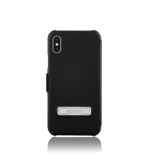 Kick Folio Collection Premium Protective Folio Case With Kickstand For iPhone X