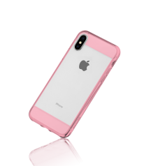 Clear Edge Collection Hybrid Protective Soften Edges and Hard Rear Snap Case For iPhone X