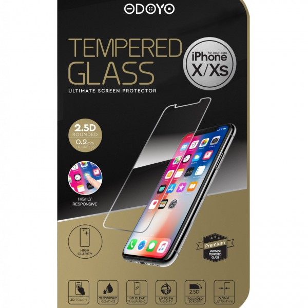 Tempered Glass Ultimate Screen Protector For iPhone X/XS
