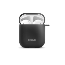 Airpod Silicon case front black back