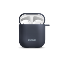 Airpod Silicon case front navy back