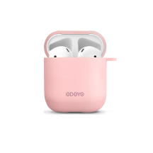 Airpod Silicon case front pink back