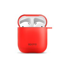 Airpod Silicon case front red back