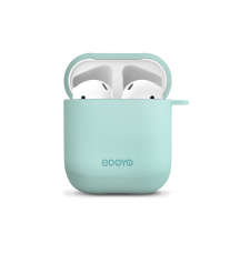 Airpod Silicon case front_sky blue back